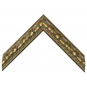 Деревянный багет Золото 272.44.060