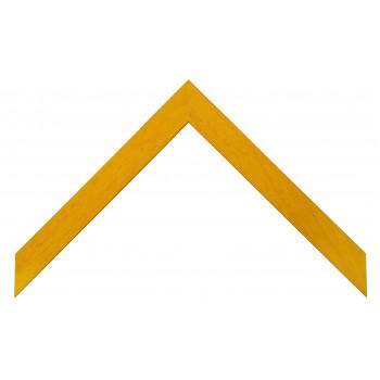 Деревянный багет Жёлтый 329.63.011