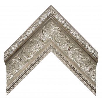 Пластиковый багет Серебро 400-956