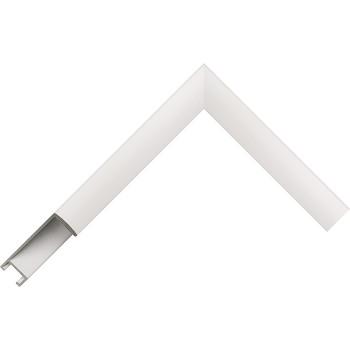 Алюминиевый багет белый 49-31