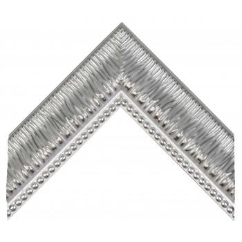 Пластиковый багет Серебро 527-1244