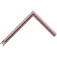 Алюминиевый багет серо-фиолетовый блестящий 85-117