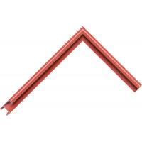 Алюминиевый багет красно-коричневый матовый 85-39