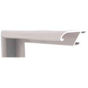 Алюминиевый багет серый 86-104
