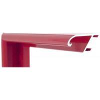 Алюминиевый багет темно-красный блестящий 86-116
