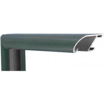 Алюминиевый багет зеленый 89-304