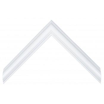 Пластиковый багет Белый V2-WHITE