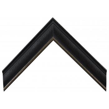 Деревянный багет Черный А-В100351