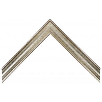 Деревянный багет Серебро А-В110465