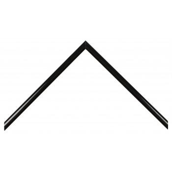 Деревянный багет Чёрный глянцевый 049.21.045