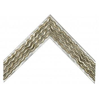 Деревянный багет Серебро 061.54.044