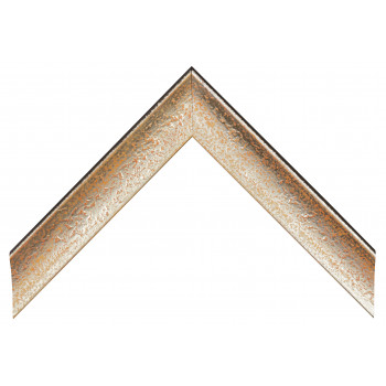 Деревянный багет Серебро 089.54.044
