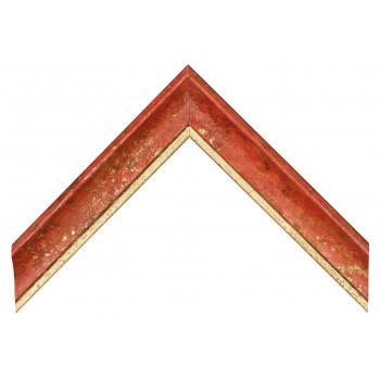 Деревянный багет Красный 089.64.046