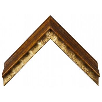Деревянный багет Золото 11283092