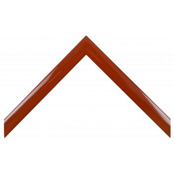Деревянный багет Красный глянцевый 127.43.076