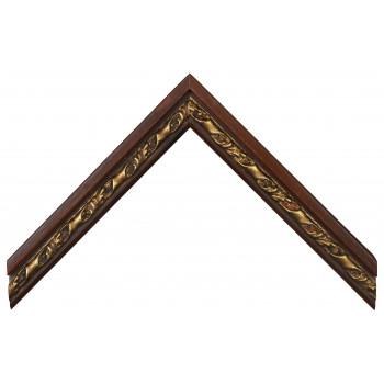 Деревянный багет Коричневый 13623046