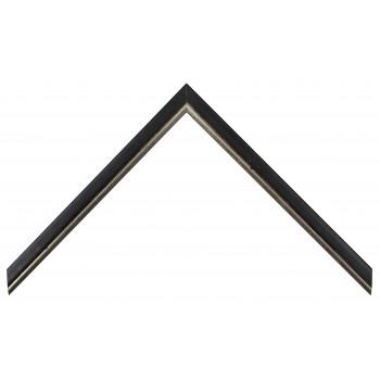 Деревянный багет Черный 15123006