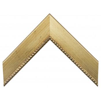 Деревянный багет Золото 15763055