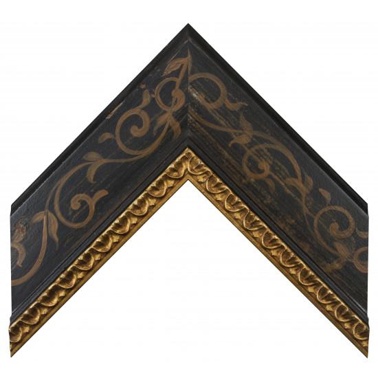 Деревянный багет Черный 16193609 в интернет-магазине ROSESTAR фото