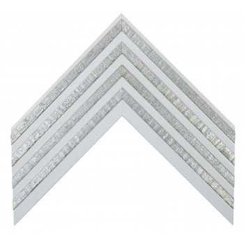Деревянный багет Белый 262.93.317