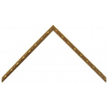 Деревянный багет Золото 265.21.031