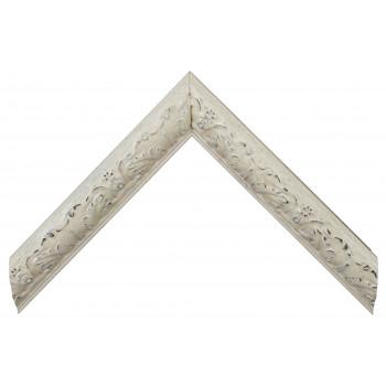 Деревянный багет Белый 26743051