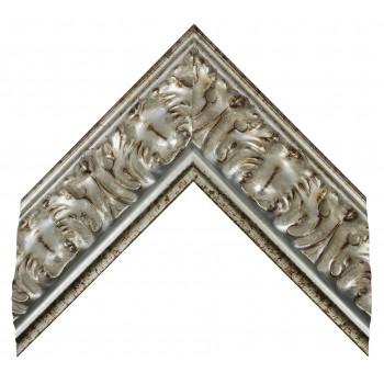 Деревянный багет Серебро 275.63.044
