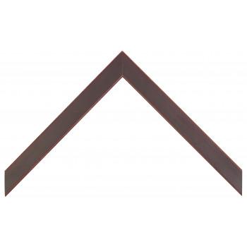 Деревянный багет Темно-бордовый  310.43.053