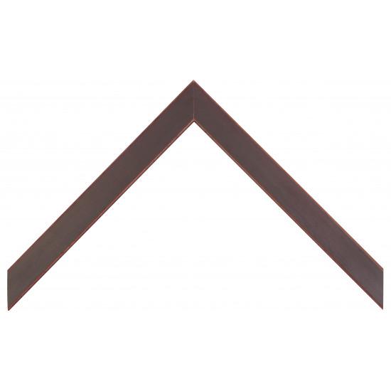 Деревянный багет Темно-бордовый  310.43.053 в интернет-магазине ROSESTAR фото