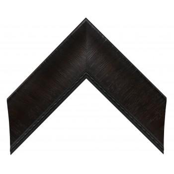 Пластиковый багет Темно-коричневый 317-131