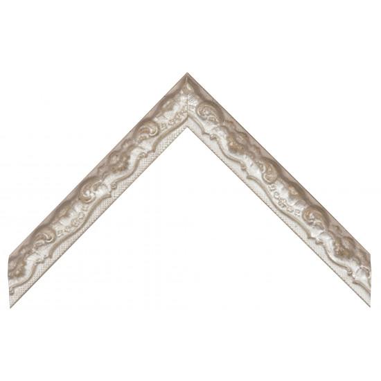 Деревянный багет Серебро 369.44.044 в интернет-магазине ROSESTAR фото