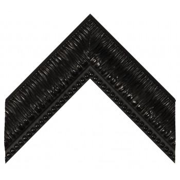 Пластиковый багет Черный 527-195