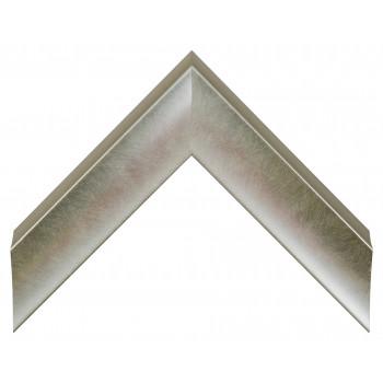 Пластиковый багет Серебро 553-373