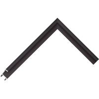 Алюминиевый багет черный 84-25