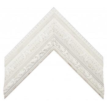 Пластиковый багет Белый 849-919