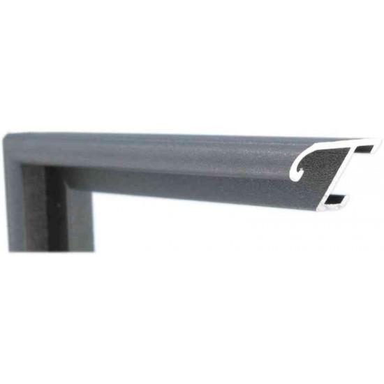 Алюминиевый багет стерлинг металлик 85-302 в интернет-магазине ROSESTAR фото
