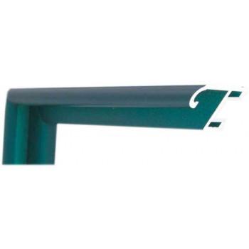 Алюминиевый багет бирюзовый 85-314