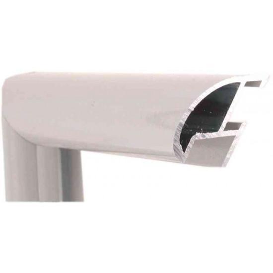 Алюминиевый багет серый 87-104 в интернет-магазине ROSESTAR фото
