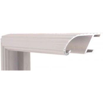 Алюминиевый багет серый 88-104