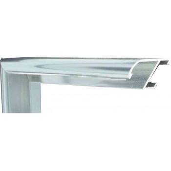 Алюминиевый багет серебро блестящий 905-11