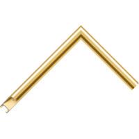 Алюминиевый багет золото матовый 915-14