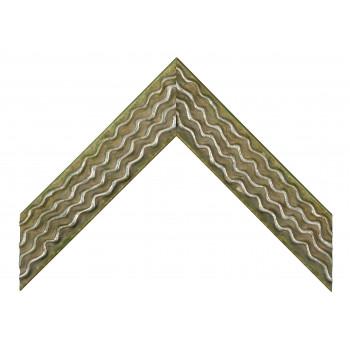 Деревянный багет Зеленый 061.54.047
