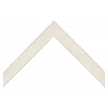 Деревянный багет Белый 081.33.167