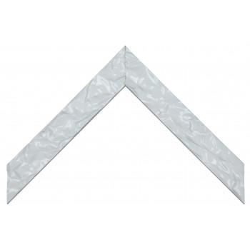 Деревянный багет Белый глянцевый 083.24.048