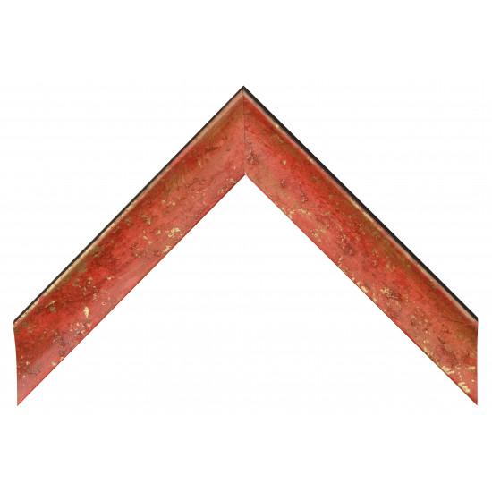 Деревянный багет Красный 089.54.046 в интернет-магазине ROSESTAR фото