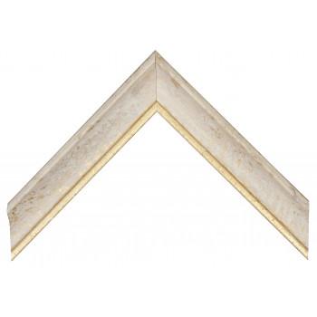 Деревянный багет Белый 089.64.048