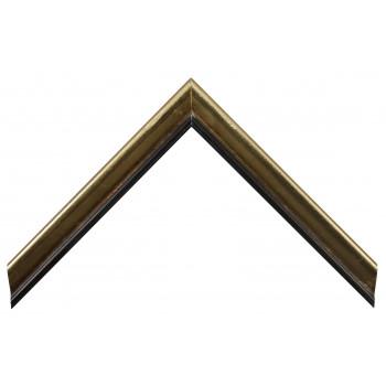 Деревянный багет Золото 13523255