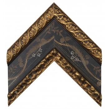 Деревянный багет Черный 19603331