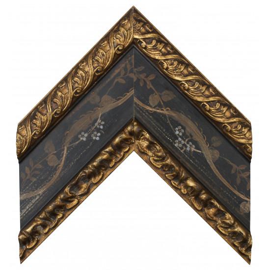 Деревянный багет Черный 19603331 в интернет-магазине ROSESTAR фото