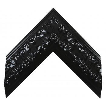 Деревянный багет Чёрный глянцевый 275.63.045